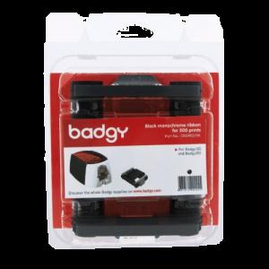 Badgy Black Monochrome Ribbon