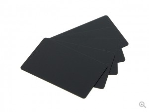 PVC Matt Black Card