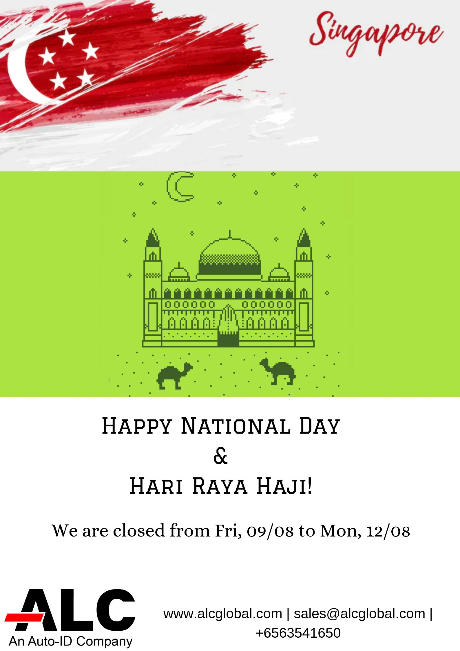 Happy National Day & Hari Raya Haji 2019