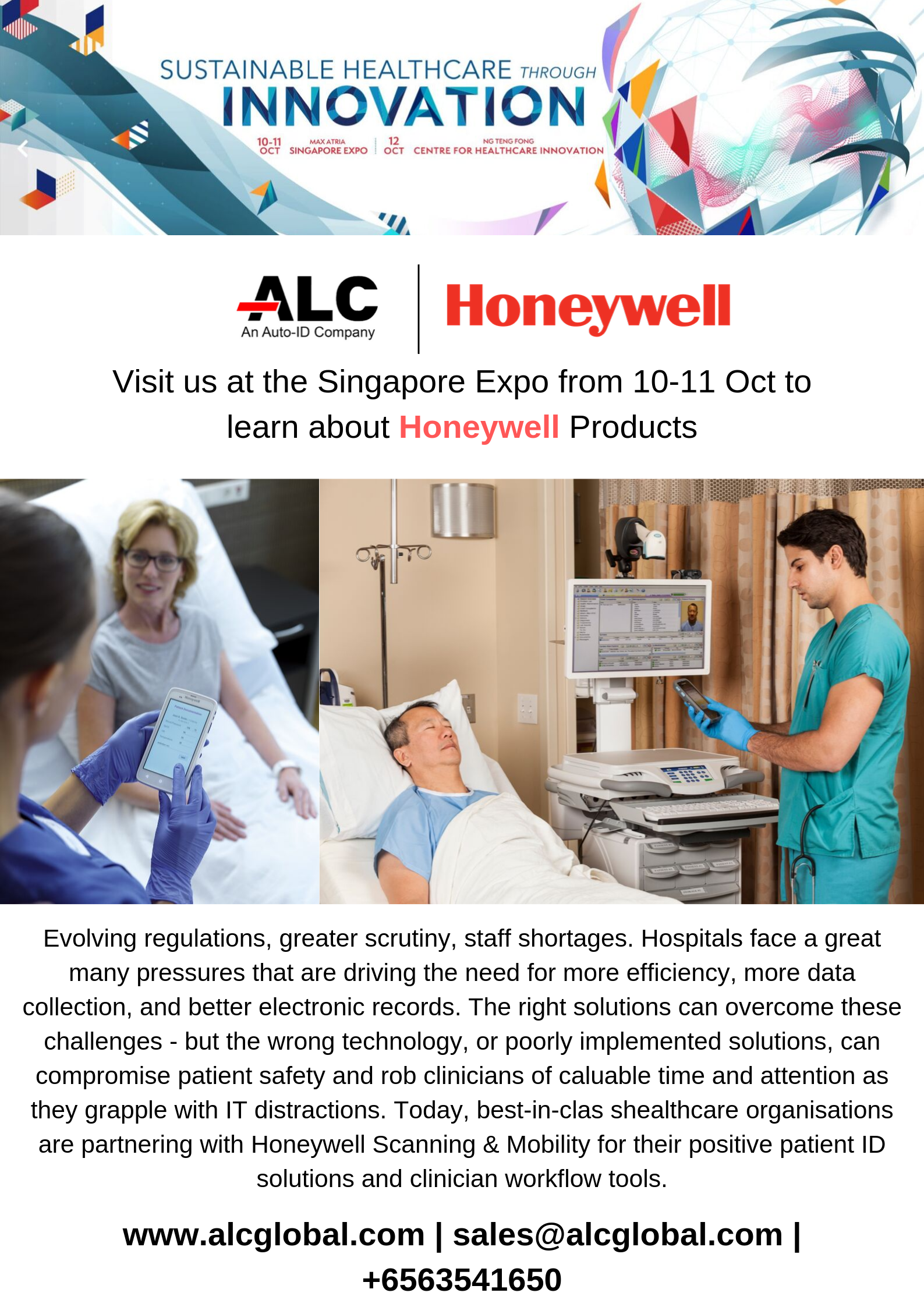 Visit us at the Singapore Health & Biomedical Congress 2019!